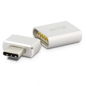 LMP USB-C Magsafe Adapter, silber