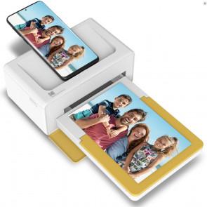 DEMO: Kodak Dock Plus, tragbarer Bluetooth Photoprinter, weiss/gelb