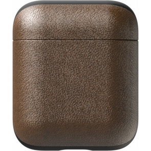 Nomad Leder Case für Apple AirPods, braun