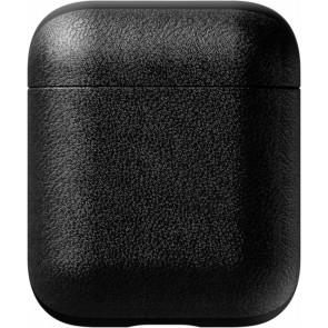 Schutzabdeckung Airpod Case Leder, schwarz, Nomad