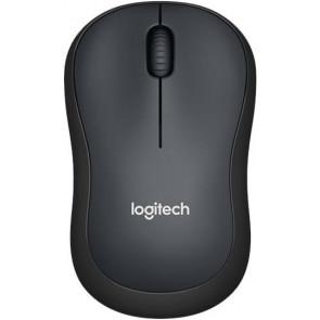 Logitech M220 Silent Cordless Maus, anthrazit
