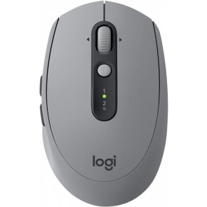 Logitech M590 Multi-Device Silent Wireless Maus, grau