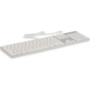LMP USB-C Keyboard KB-1843 mit Zahlenblock, CH, silber