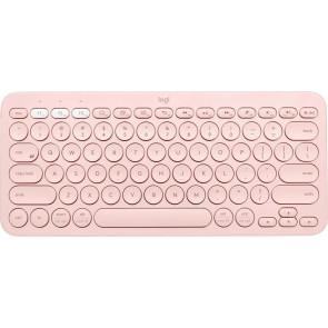 Logitech K380, Multi-Device Bluetooth Tastatur, Rosa