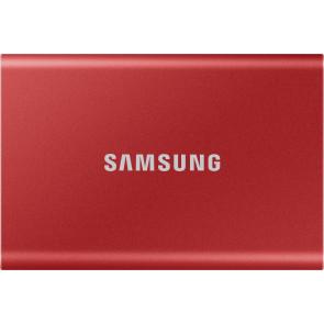 Samsung 1 TB T7 Portable SSD, Metallic Rot