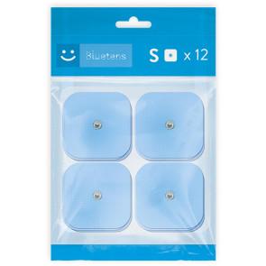 Bluetens Pack mit 12 Ersatz-Elektroden Small
