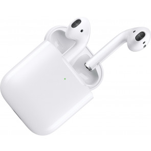 Apple AirPods mit kabellosem Ladecase, Bluetooth In-Ear Kopfhörer