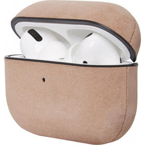 Leder Case für Apple Airpods Pro, rose, Decoded