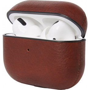 Leder Case für Apple Airpods Pro, braun, Decoded