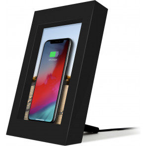 DEMO: PowerPic Wireless Charger, schwarz, Twelve South