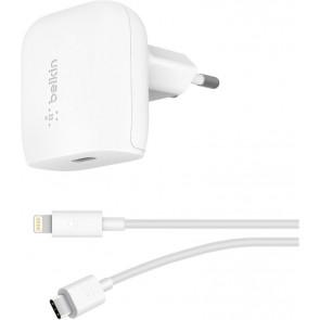 Belkin Boost Charge 18W USB-C Netzladegerät inkl. Kabel, weiss