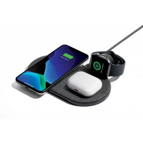 DROP Wireless Charger XL Watch für iPhone, grau, Native Union