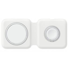 Apple MagSafe Duo Ladegerät, kabelloses Laden von iPhone/ AirPods + Apple Watch
