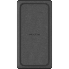 Mophie Powerstation, Wireless XL, 10'000 mAh-Akku, USB-A, USB-C, schwarz