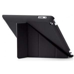 Origami Case, iPad 4,3,2, schwarz, Pipetto