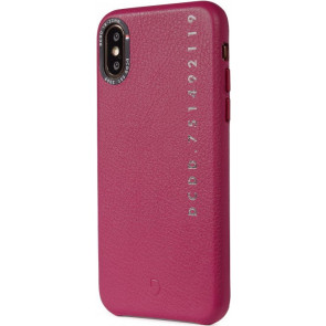 "Leder Back Cover, Pop Color, iPhone XR (6.1""), fuchsia, Decoded"
