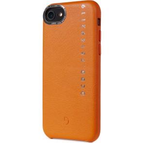 Leder Back Cover, Pop Color, iPhone SE/8/7/6s/6, orange, Decoded