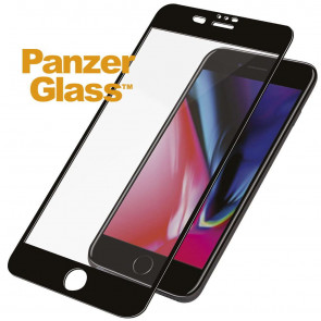 "Displayschutz, iPhone 8/7/6s/6 Plus (5.5""), schwarz, Panzerglass"