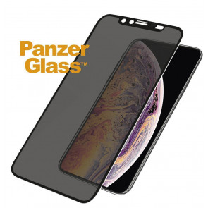 "Screen Protector Case Friendly, iPhone 11, XR (6.1""), Privacy, schwarz Panzerglass"