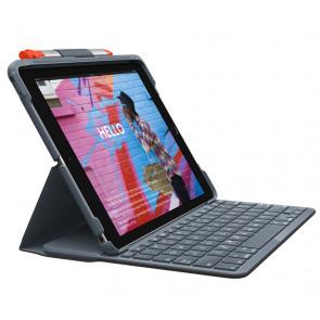 "Slim Folio, 10.2"" iPad (2019), CH-Tastatur/ Hülle, graphite, Logitech"