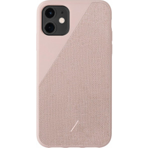 "Clic Canvas Hülle für iPhone 11 (6.1""), rose, Native Union"