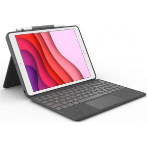 "Logitech Combo Touch Keyboard Case mit Trackpad, 10.2"" iPad (2019/2020), CH-Tastatur, Carbon schwarz"