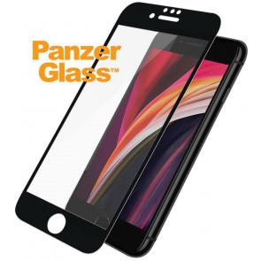 """Panzerglass Displayschutz, Kristallklar, iPhone SE/8/7/6s/6 (4.7""""), schwarz"""