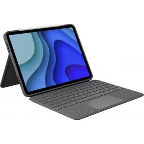 "Folio Touch, Keyboard Case mit Trackpad, 11"" iPad Pro, CH-Tastatur, Grau, Logitech"