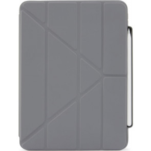 """Pipetto Origami No3 Pencil Case, iPad Air 10.9"""" (2020), Grau"""