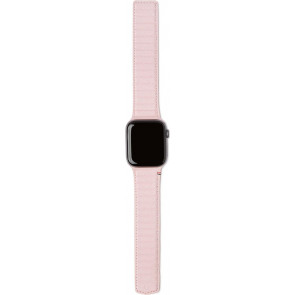 Lederarmband Magnetic Lite für Apple Watch 38/40 mm, rosa, Decoded