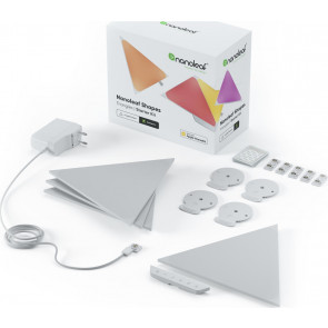 Shapes Triangle, Starter Kit, weiss, 4er Pack, Nanoleaf