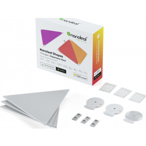 Shapes Triangle, Expansion, weiss, 3er Pack, Nanoleaf