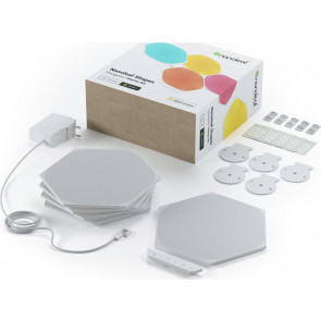 Shapes Hexagon, Starter Kit, weiss, 5er Pack, Nanoleaf