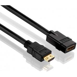 HDMI Verlängerungskabel M-F, 3 m