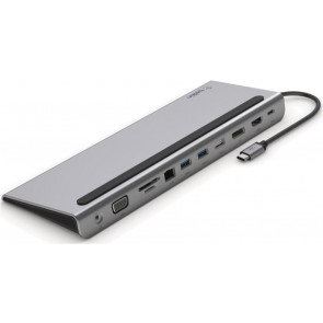 Belkin USB-C 11 in 1 Multiport Dock, spacegrau