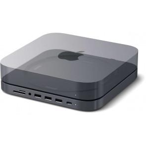 Satechi USB-C Aluminum Stand & Hub für Mac mini
