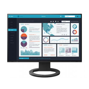 "24"" EIZO, FlexScan EV2495-Swiss Edition Monitor, Schwarz"
