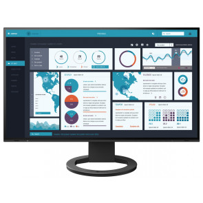 "27"" EIZO, FlexScan EV2795-Swiss Edition Monitor, Schwarz"