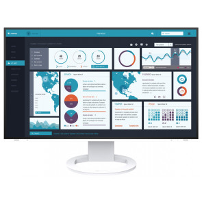 "27"" EIZO, FlexScan EV2795-Swiss Edition Monitor, Weiss"