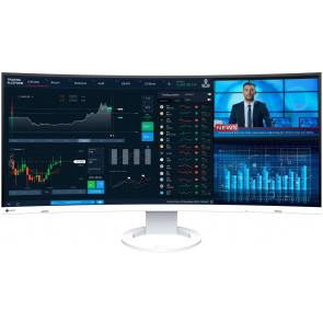"EIZO EV3895 Swiss Edition, 37.5"" 4K QHD+ Ultra Wide 4K Monitor, 85 Watt USB-C (Thunderbolt3), weiss"