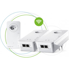 devolo, Magic 2 WiFi next Multiroom Kit, Powerline Adapter, weiss