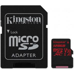 256GB microSDHC Card, UHS-I, U3, Kingston (für 4K UltraHD)