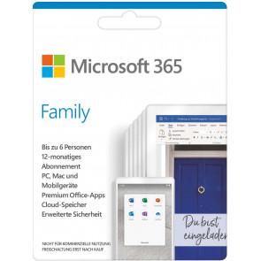 Microsoft 365 Family Mac + Win, Downloadversion
