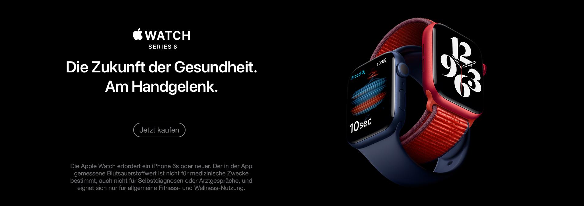 Jetzt Apple Watch 6 kaufen